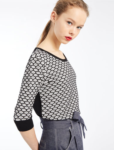 Jacquard sweater Marella