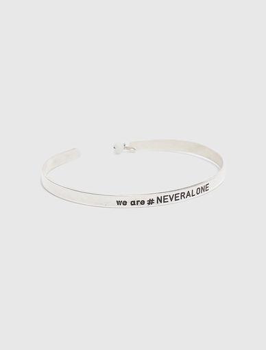 #NEVERALONE rigid bracelet Marella