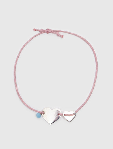 Bracelet avec cordon en soie #NEVERALONE Marella