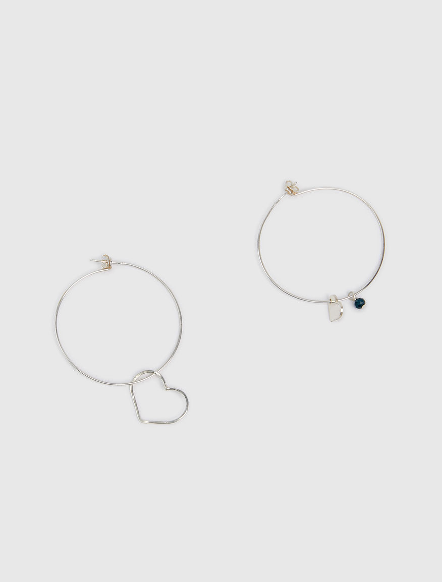 #NEVERALONE hoop earrings Marella