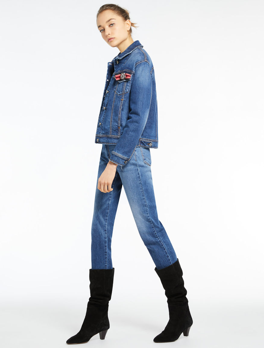 Denim jacket Marella