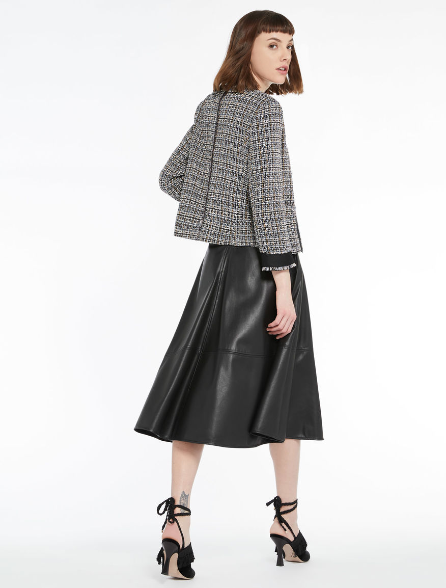 Basket-weave jacket Marella
