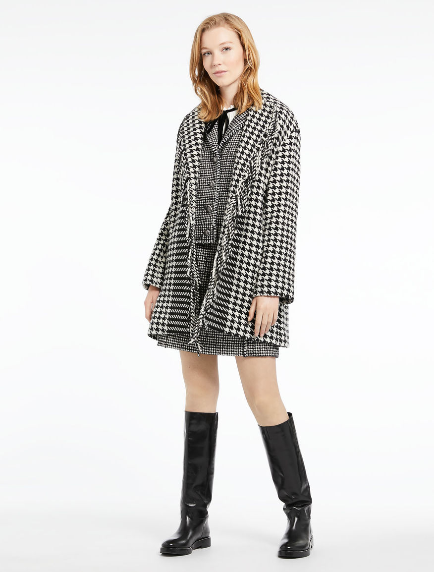 Houndstooth coat Marella