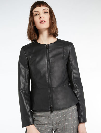 Faux leather jacket Marella