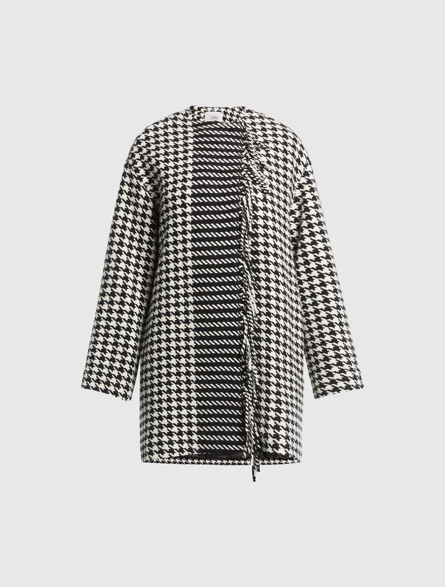 Houndstooth coat Marella