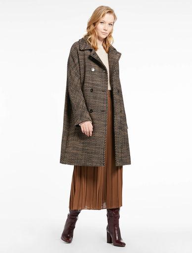 Abrigo de tweed Marella