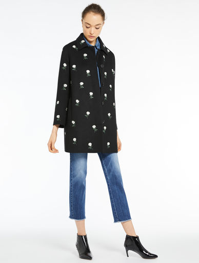 Embroidered coat Marella
