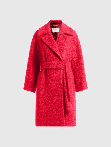Mantel aus Bouclé Marella