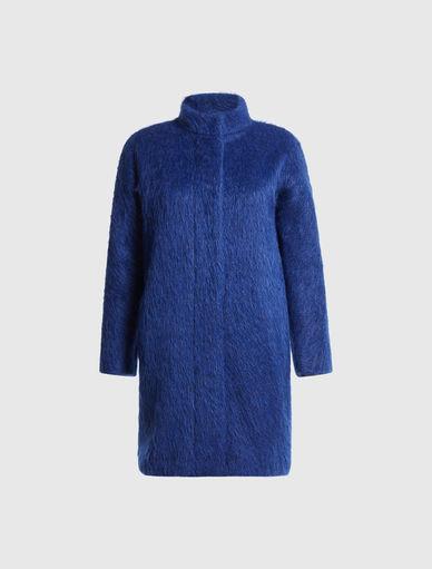 Mantel aus Mohair Marella