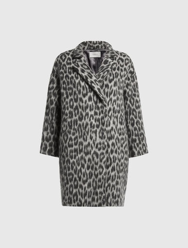 Animal-look coat Marella