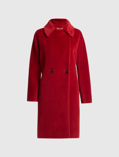 Manteau en alpaga Marella