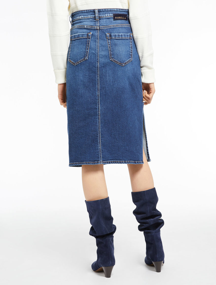 Denim skirt Marella