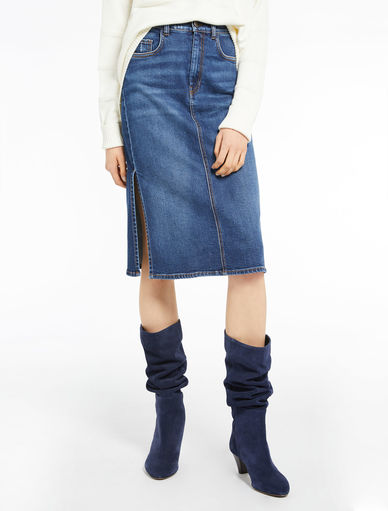 Rock aus Denim Marella