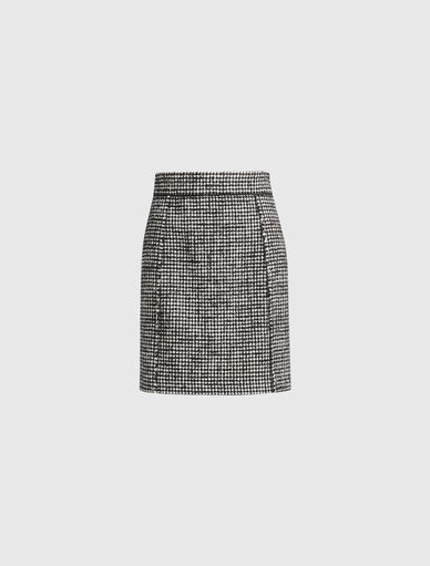 Houndstooth skirt Marella