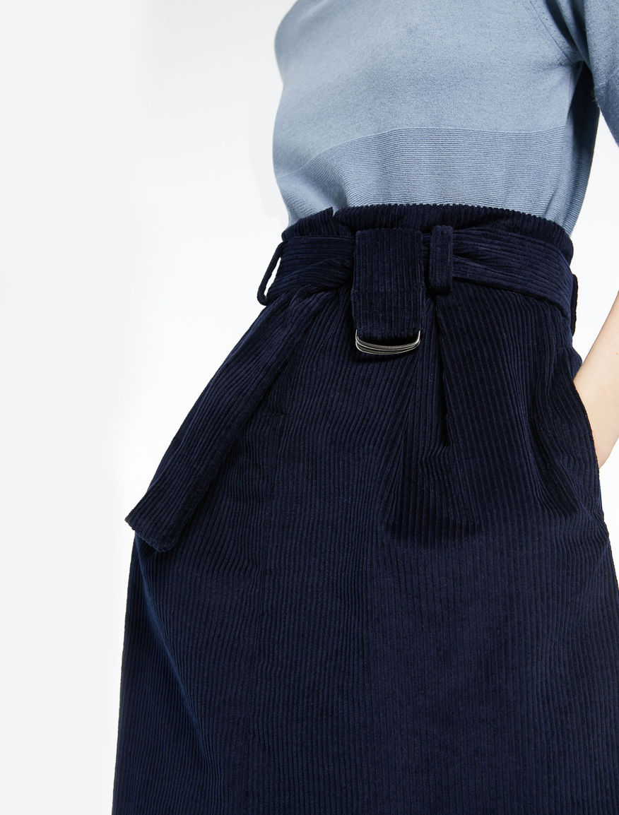 Velvet skirt Marella