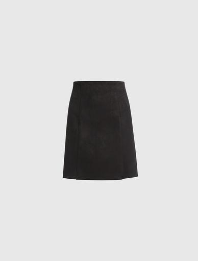Suede-effect skirt Marella