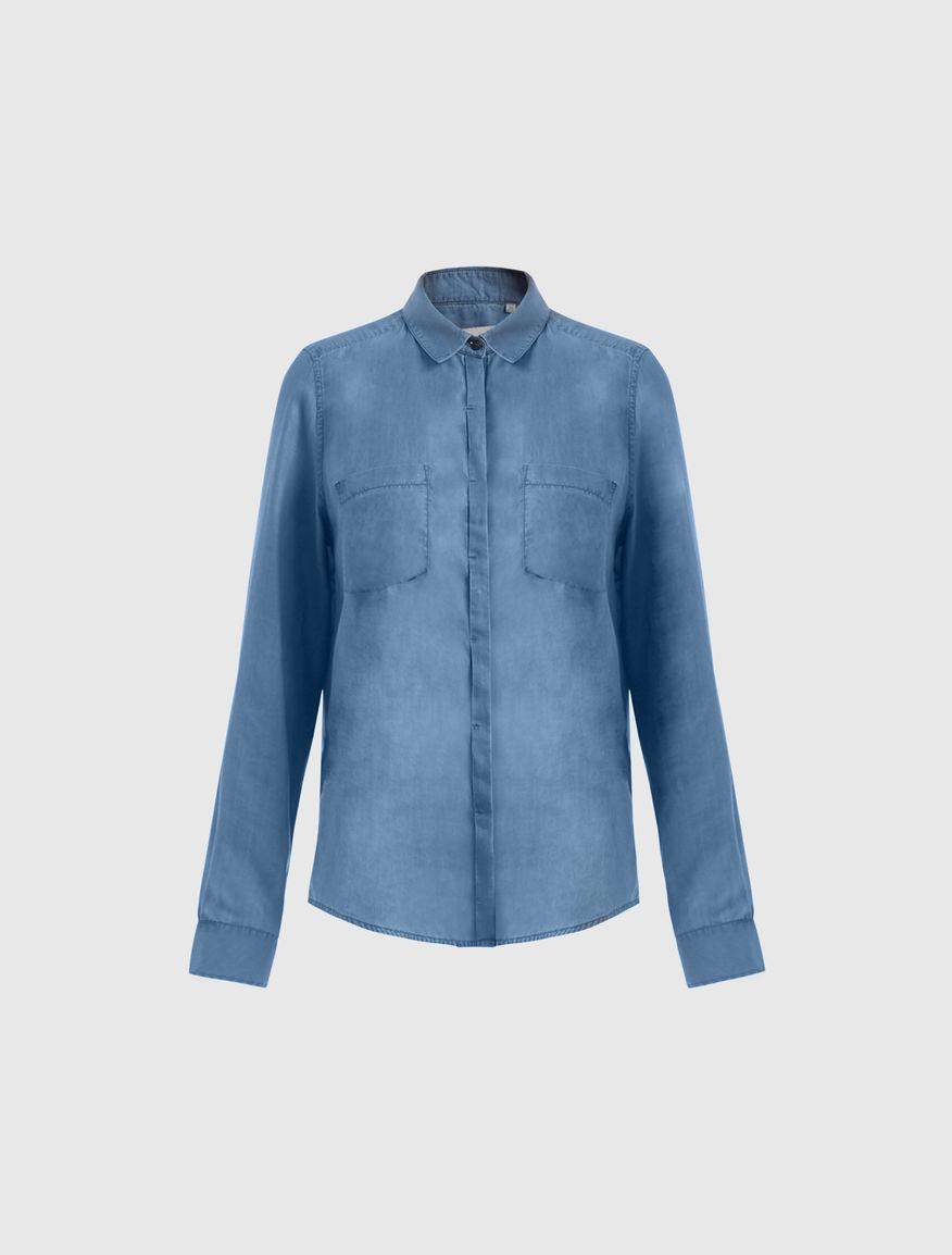 Camisa de satén Marella
