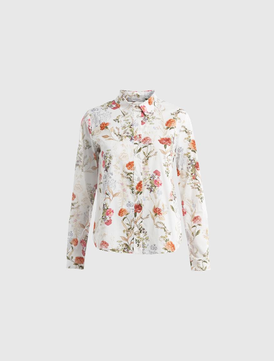 Camicia a fiori Marella