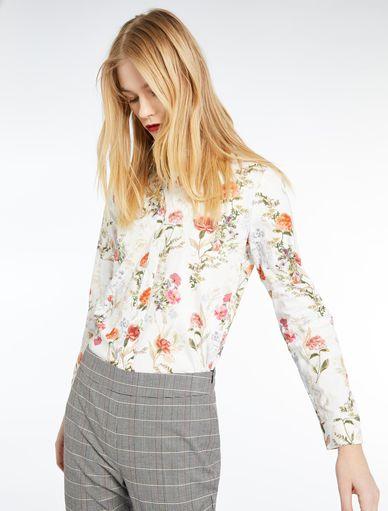 Floral-print shirt Marella