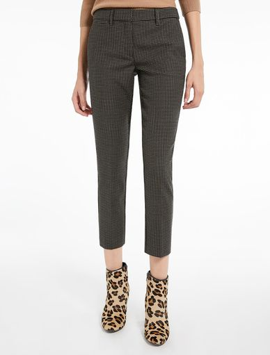 Tweed trousers Marella