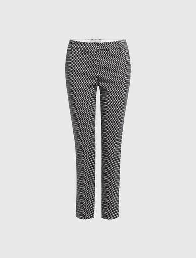 Pantalon en jacquard Marella