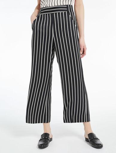 Pantaloni a righe Marella