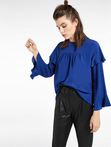 Blouse with flounce Marella