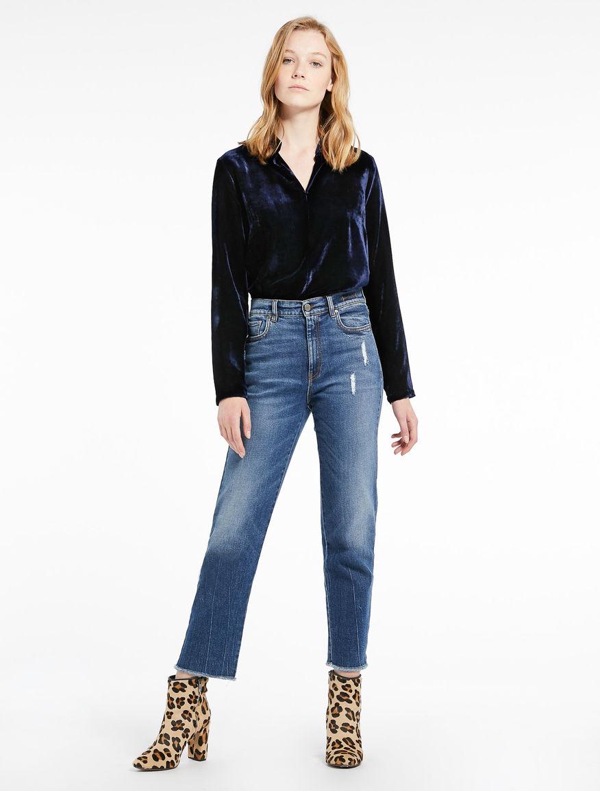 Velvet blouse Marella
