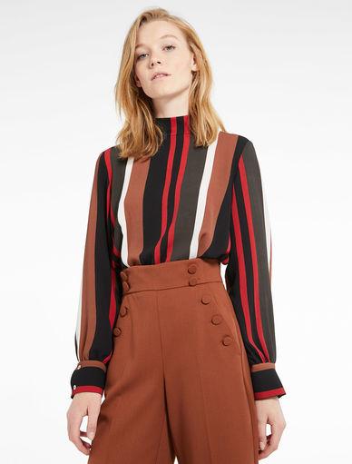 Crêpe blouse Marella