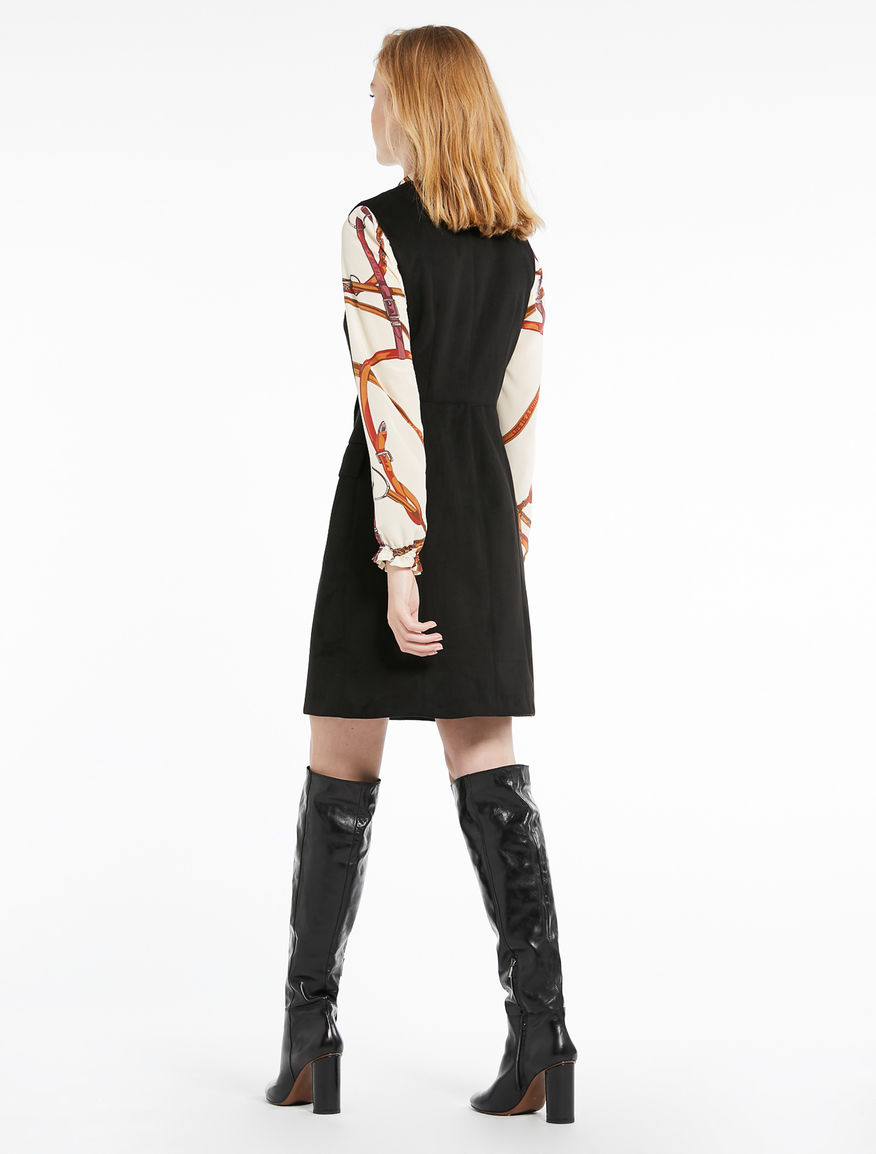 Suede-effect dress Marella