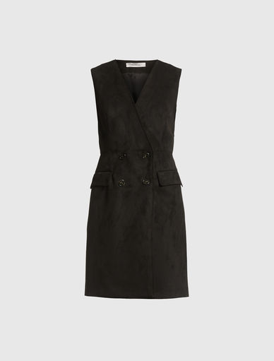 Suede-effect dress Marella