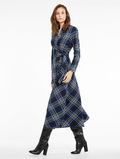 Chequered dress Marella