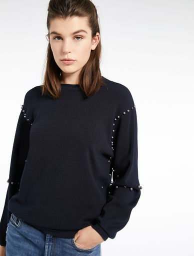 Sweater with pearls Marella