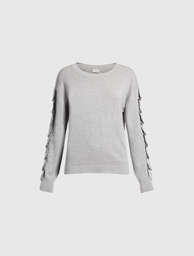 Sweater with ruching Marella