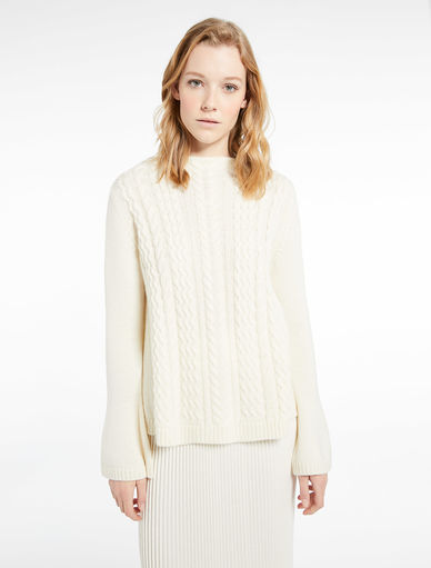 Cable-knit sweater Marella
