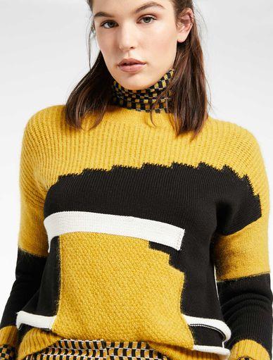 Pullover mit Einstrickmuster Marella