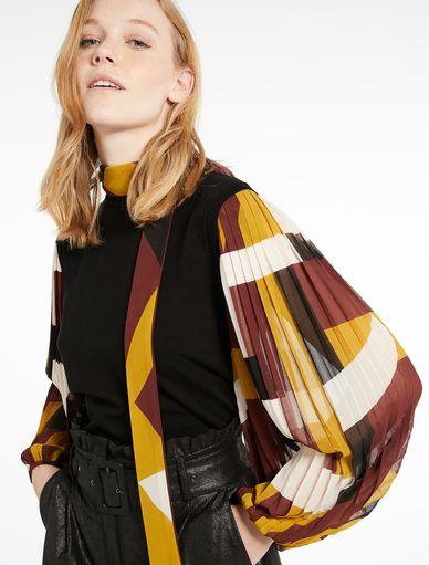 Pullover mit plissierten Ärmeln Marella