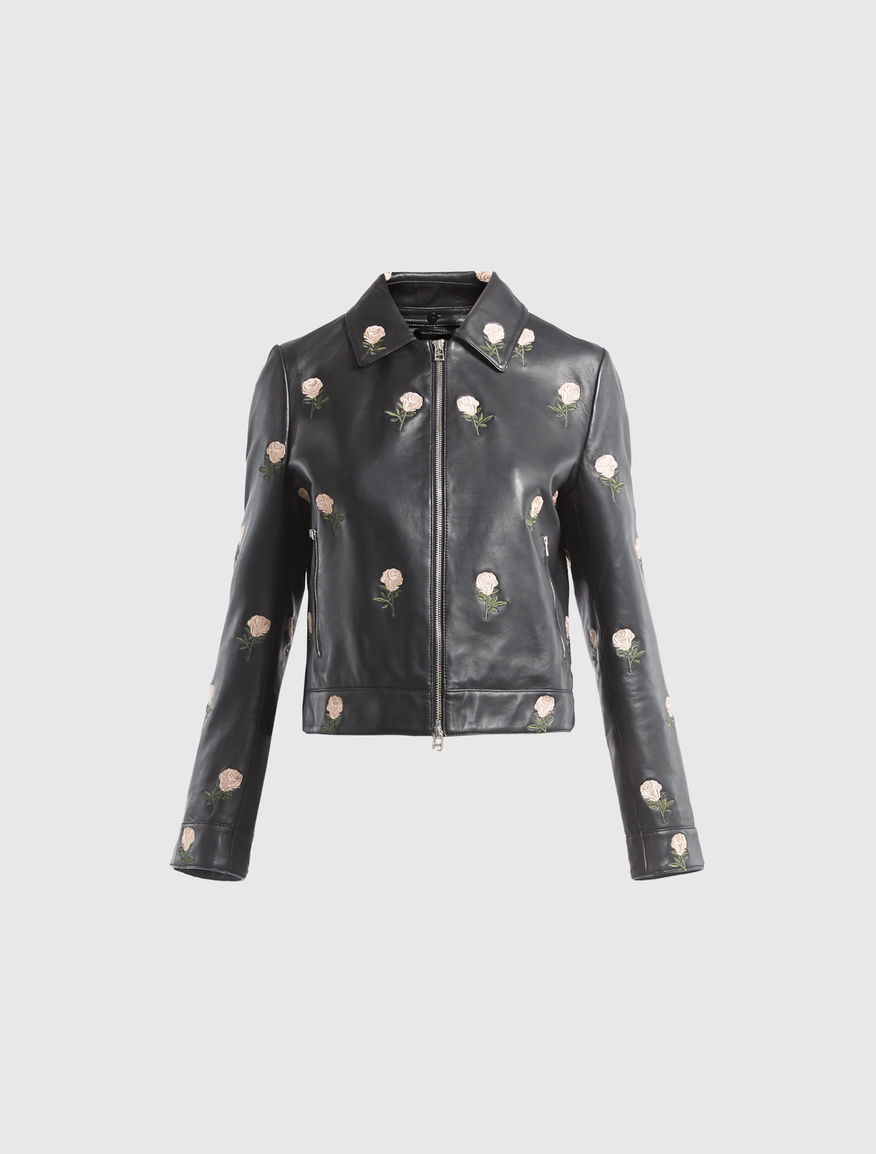 Leather jacket Marella