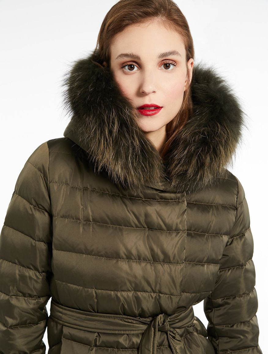Quilted down jacket Marella