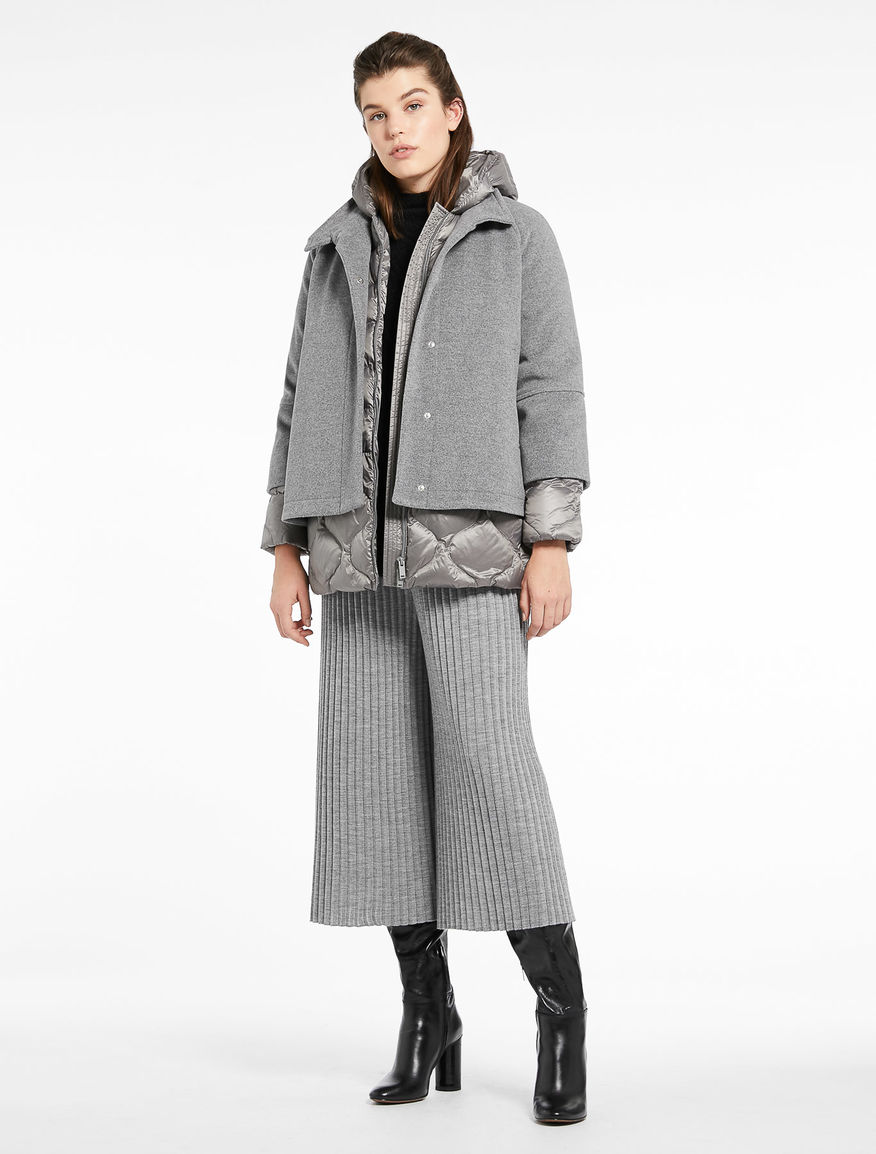 Cape with down jacket Marella