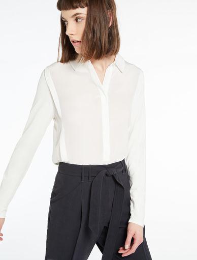 Bluse aus zwei Materialien Marella