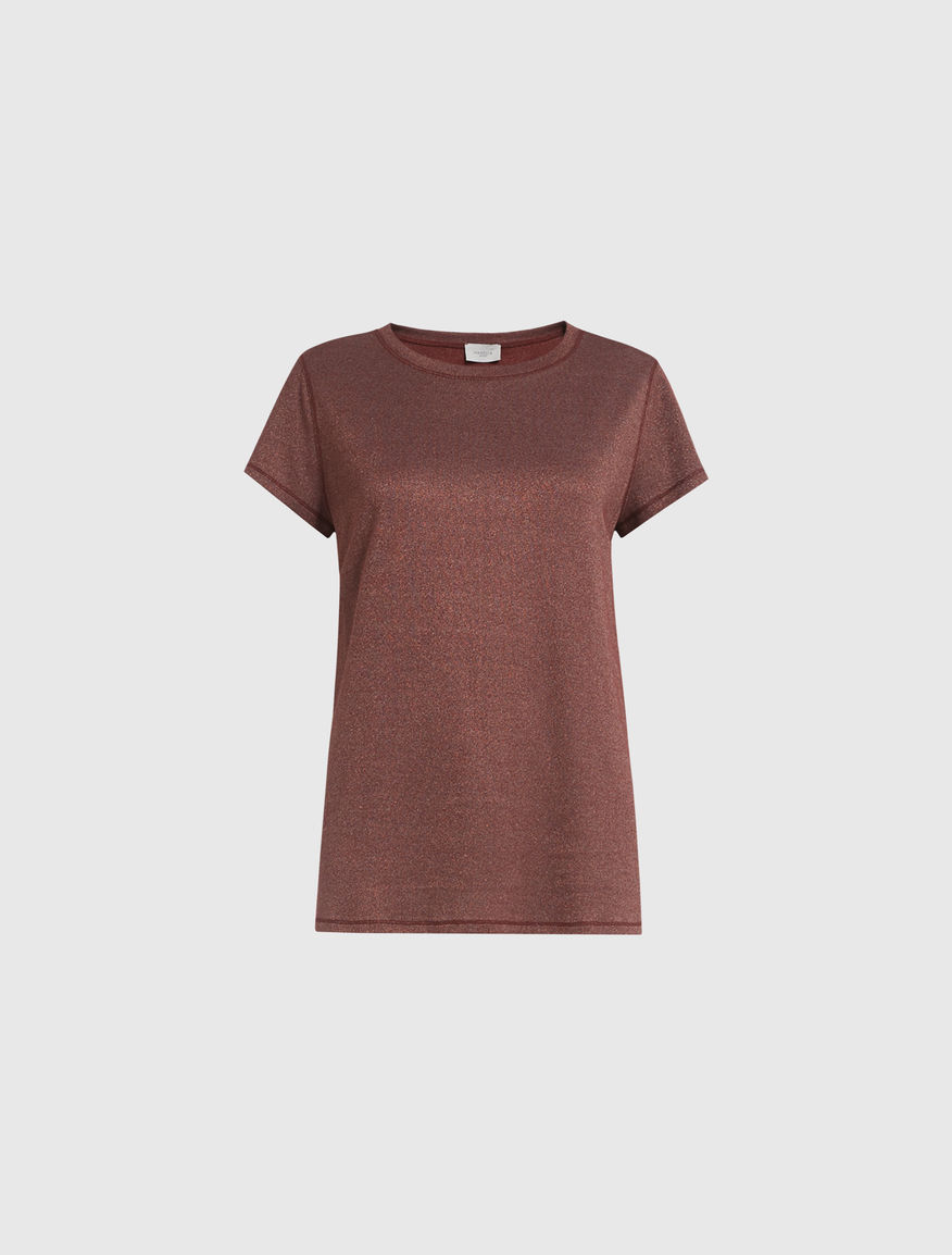 T-shirt in lurex Marella
