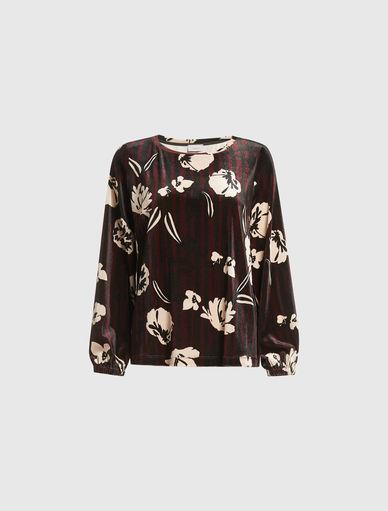 Pullover aus Chenille Marella