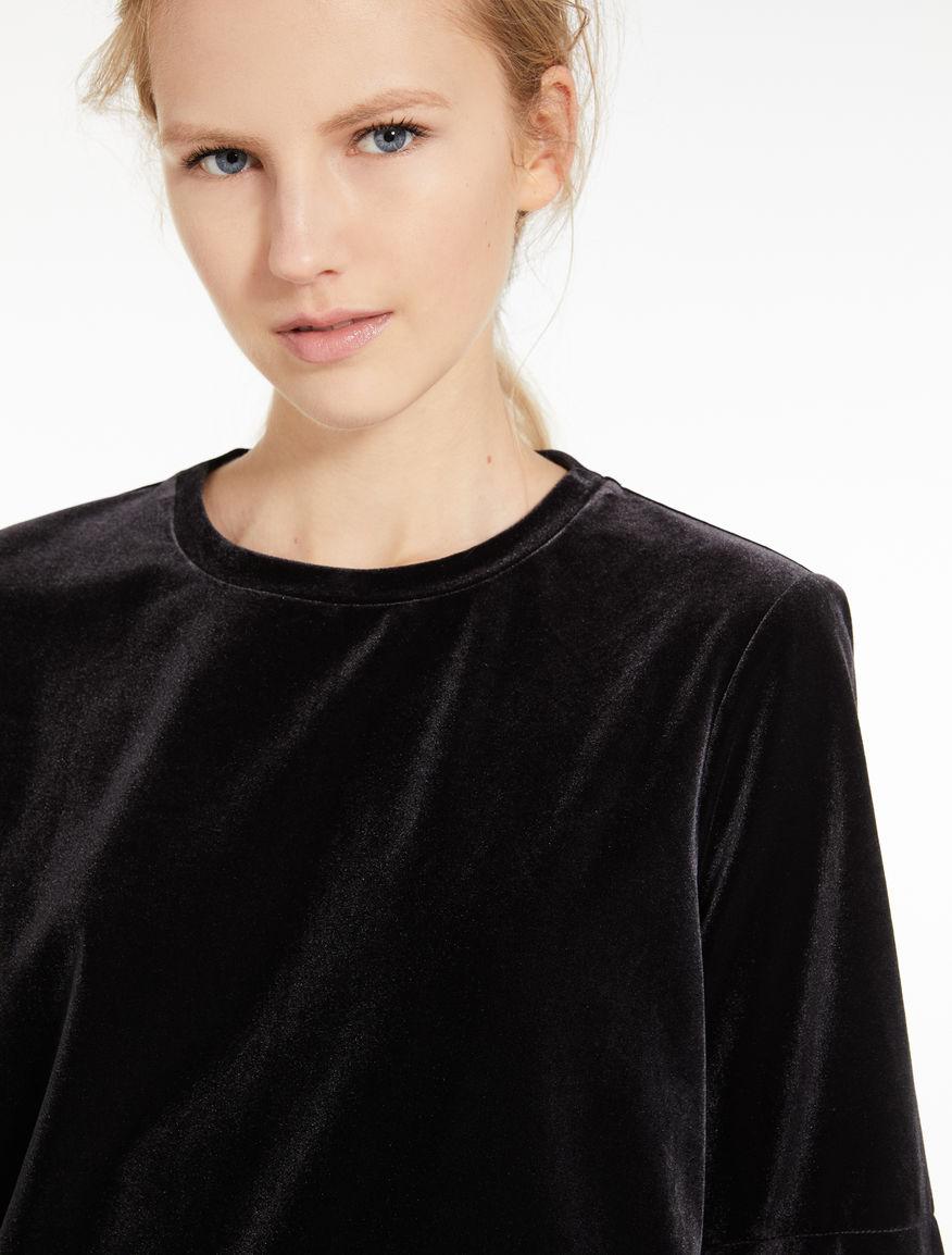 T-shirt in velluto Marella