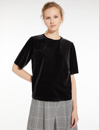 T-shirt en velours Marella