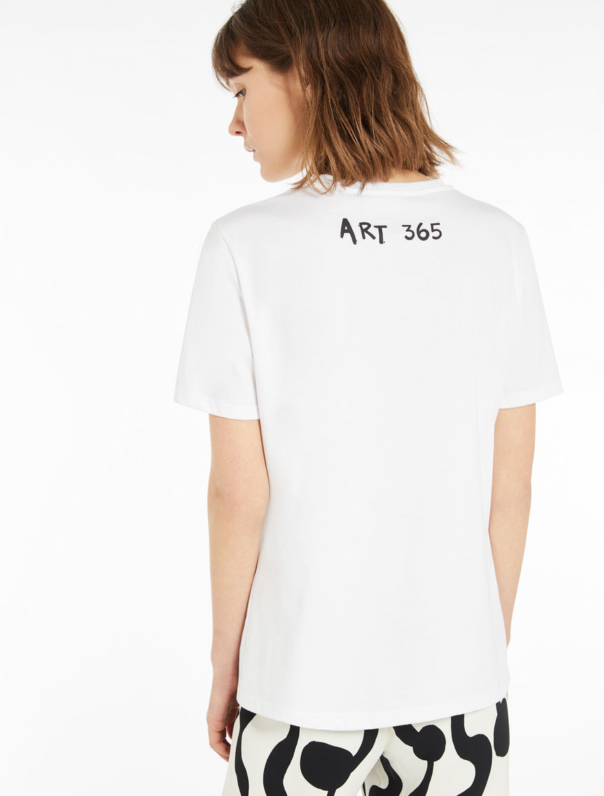 QJ x ART.365 T-shirt Marella