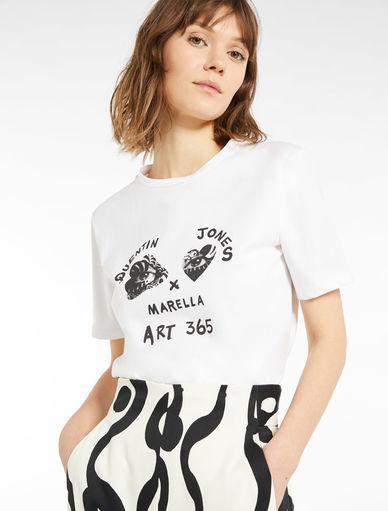 QJ x ART.365 T-shirt Marella