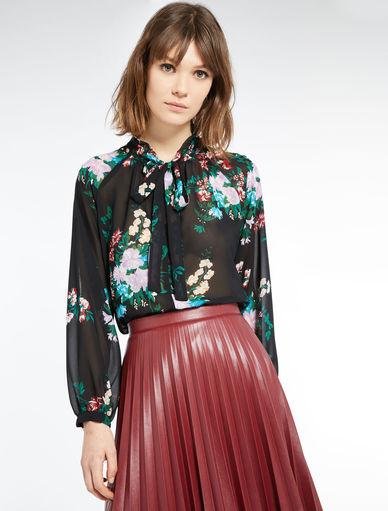 Floral-print blouse Marella