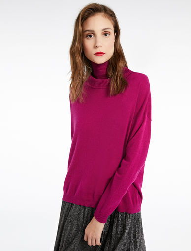 High-collar sweater Marella