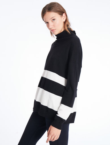 High-collar sweater Marella